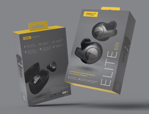 Jabra have new packaging retail packaging for enterprise product range.